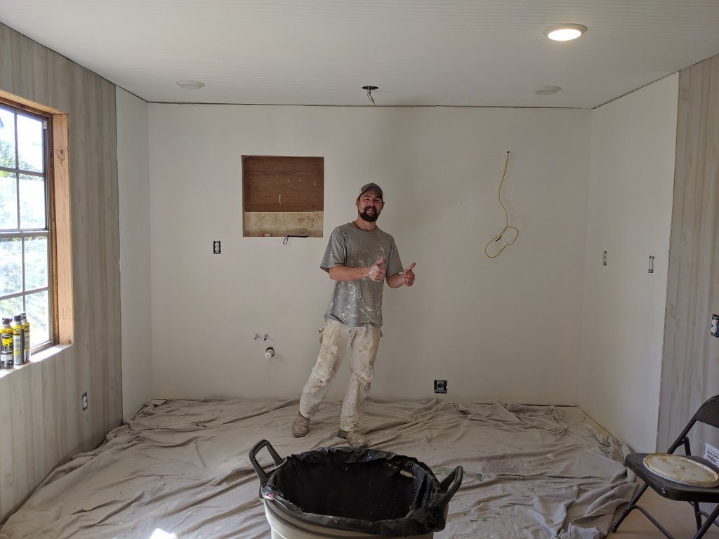 Level 5 Drywall Installation